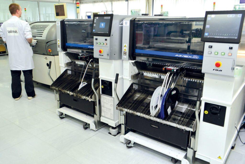 Almé Sous-traitance Electronique spécialisé dans l'industriels,médical et l'aéronautique.
