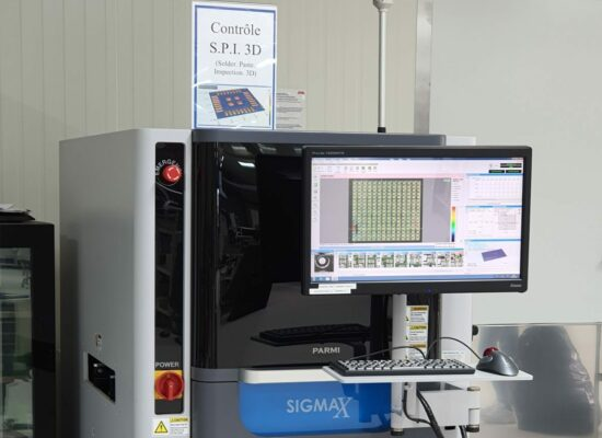 Sérigraphie inspection SPI 3D